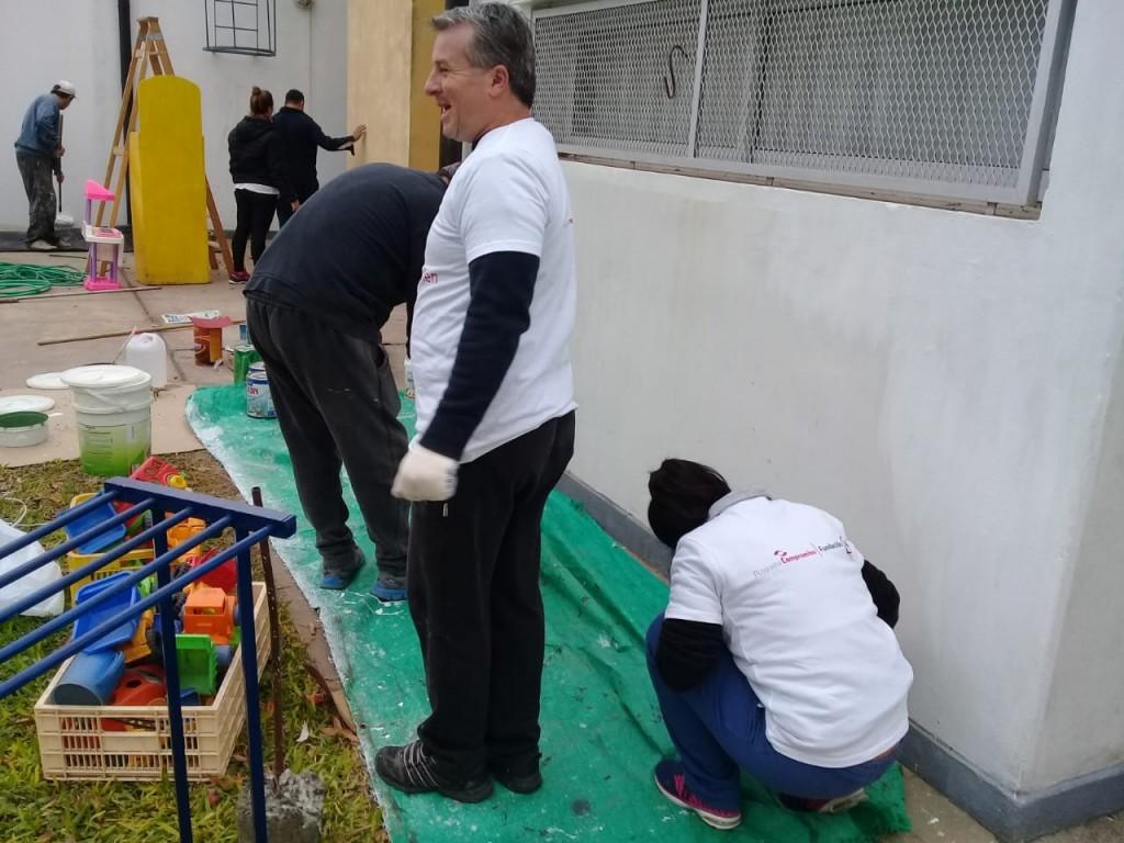 Jornada de  voluntariado en el jardín 910