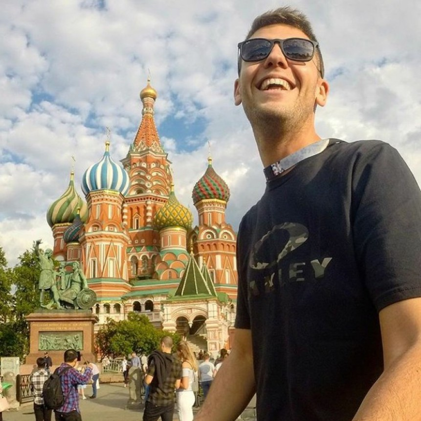 Los ramallenses que viajaron a Rusia para alentar a Argentina