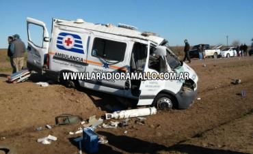 Accidente con una víctima fatal en la Ruta 1001