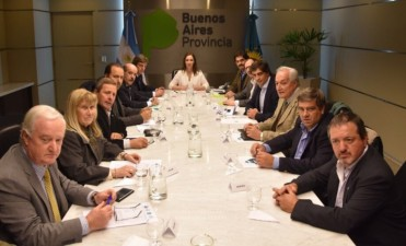 Berdini se reunió con la gobernadora María Eugenia Vidal