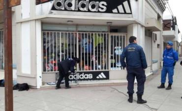 Vandalismo y robo
