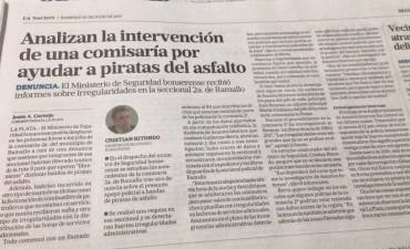Habló el periodista de La Nación