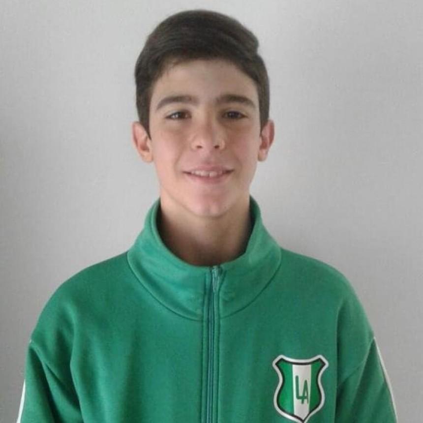 Lorenzo Bordi fue convocado a la selección Bonaerense de Voley