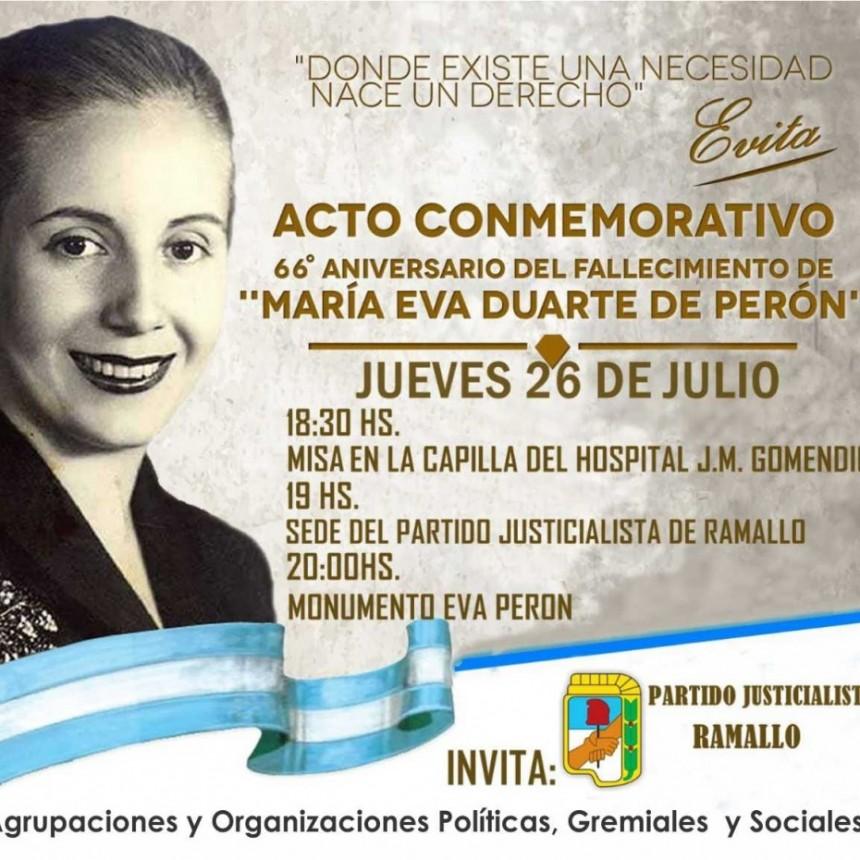 Homenaje a Evita