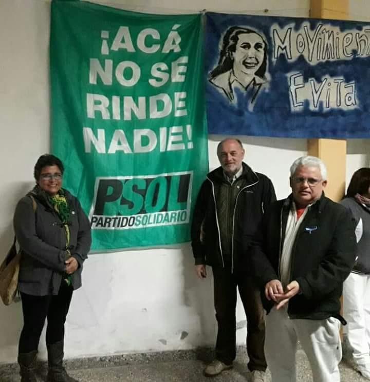 Comunicado del partido Solidario