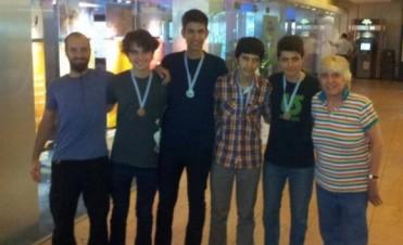 Julián Ferrés medalla de plata en Uruguay