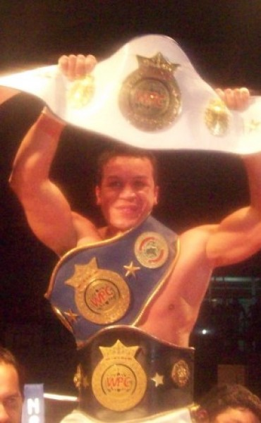 "Dario ""Gallo"" Pucheta se consagró Campeón Mundial de la WPC"