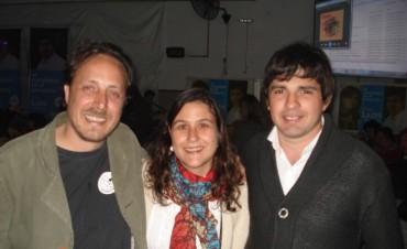 Multitudinario acto de Diego Lutri en el cierre de campaña