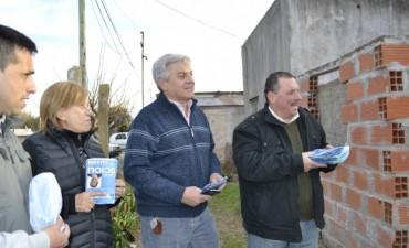 """Sergio Heredia """"Venimos a cambiar la calidad de vida de los ramallenses"""""""