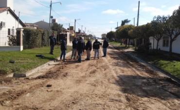 Comenzó el asfaltado de AMUCHOCA