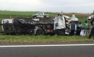 Otro accidente en ruta 9