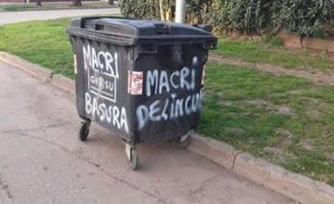 El PRO y la UCR repudiaron los hechos de vandalismo