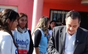 SUTEBA Ramallo le entregó un petitorio al Ministro de Educación