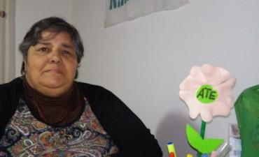 """Nora Oliveros  """"Los trabajadores auxiliares de educación necesitamos una recomposición salarial urgente"""""""