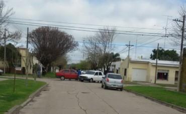 Villa Ramallo: un accidente de transito por no respetar el sentido de las calles