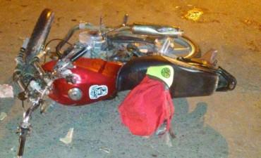 Violento accidente en Villa Ramallo