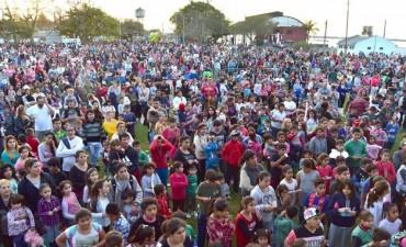 12 mil personas disfrutaron el día del niño