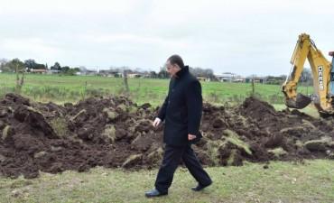 El Intendente Mauro Poletti recorrió las diferentes Obras que se están realizando en la ciudad de Ramallo