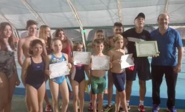 Reconocimiento a los nadadores ramallenses