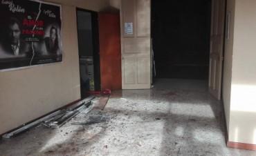 Principio de incendio en el auditorio