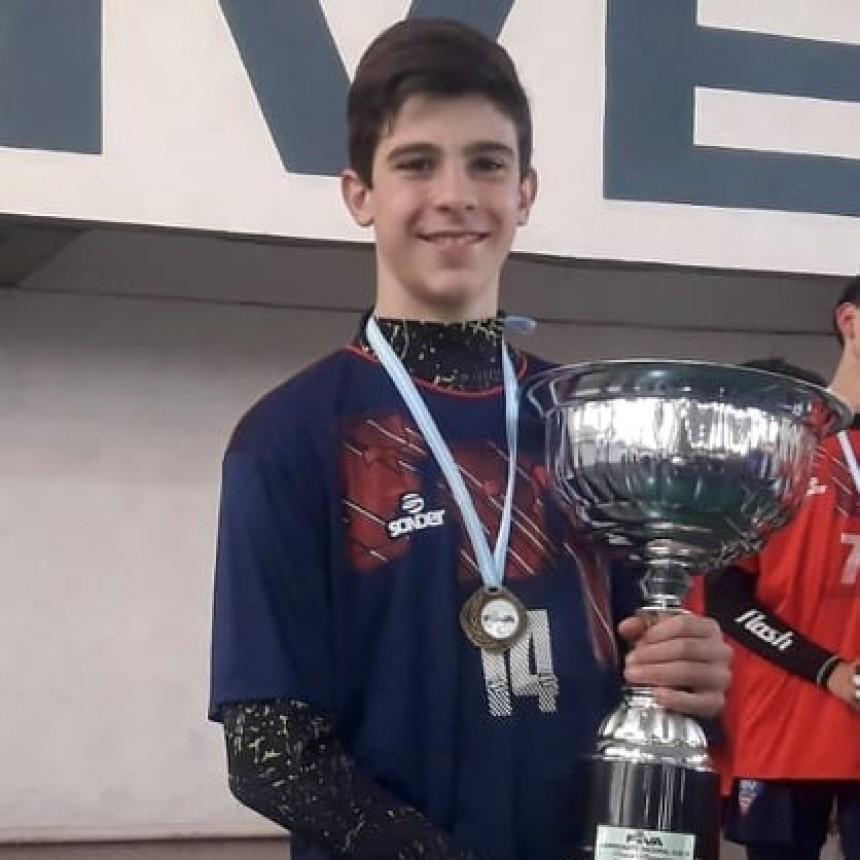 Lorenzo Bordi Campeón Nacional de Voley