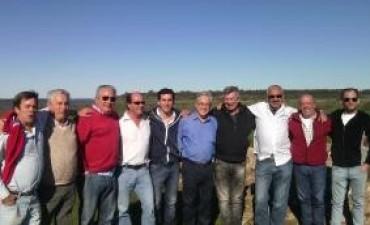 Sebastián Piñera visitó Ramallo