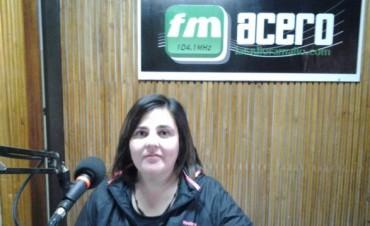 Agrupación Ramallense Ayuda a los Animales en los estudios de la radio
