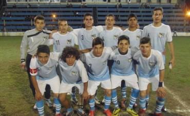 La Selección de San Nicolás Sub 17 venció a Campana 3 a 0 y clasificó