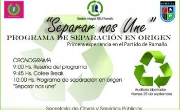 Programa municipal de separación en origen