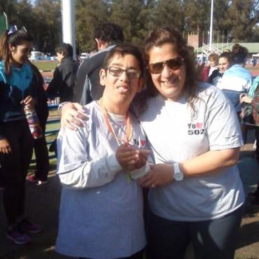 Virginia Berti y Carmen Centenari Medalla de Plata  Tomas Obrador Medalla de Bronce en los Juegos Buenos Aires