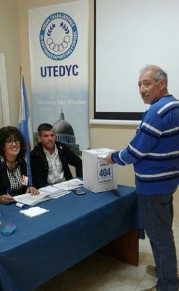 Gabriel Secchi ganó las elecciones en UTEDyC