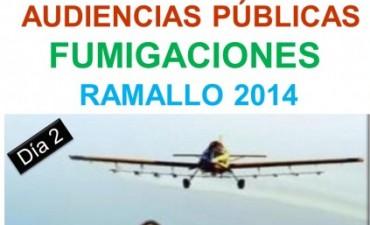 """Segunda jornada de las """"Audiencias públicas sobre Fumigaciones"""""""