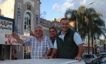 El FpV cerró la campaña con una caravana por las calles de Ramallo