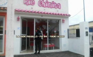 Villa Ramallo: Desvalijaron un local de ropa en pleno centro