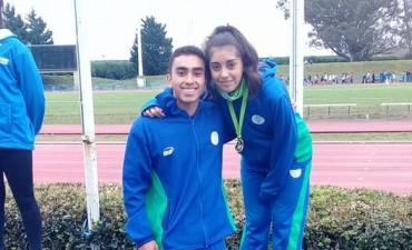 Melina Portillo Medalla de Plata en los Juegos Nacionales Evita
