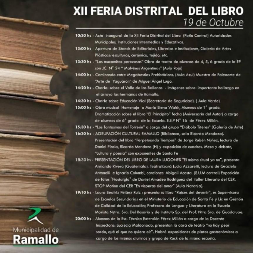 Se viene la XII Feria Distrital del Libro