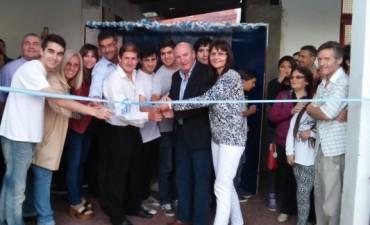 La escuela técnica inauguró un playon de usos múltiples