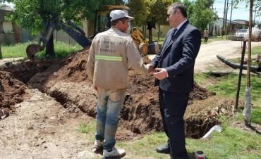 "Pérez Millán: Cloacas para el barrio ""Tiritií"""