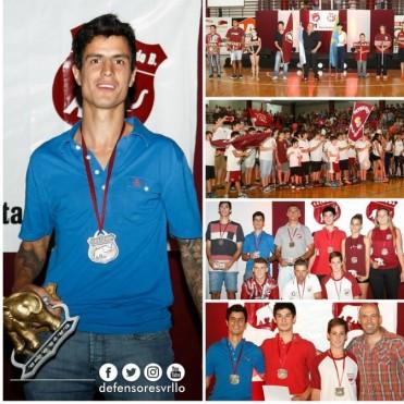 Juan Cruz Cartechini ganó el Elefante de Oro en la Fiesta del Deporte Granate