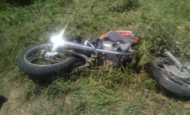 Motociclista con heridas de gravedad tras chocar con un camión