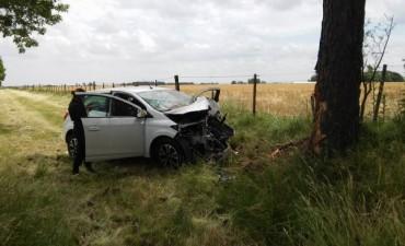 Violento accidente en el Pasaje Maiztegui