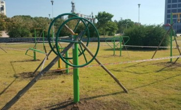 Nueva Plaza Saludable en la Ciudad de Ramallo
