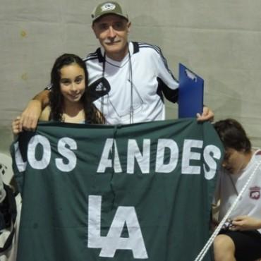 Los Andes volvió a competir en natación