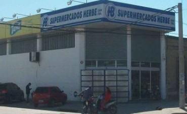 Se repiten los asaltos a supermercados