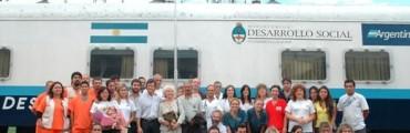 El tren sanitario ya se encuentra en Villa Ramallo