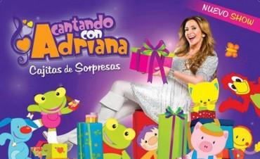 CANTANDO CON ADRIANA EN SAN NICOLAS