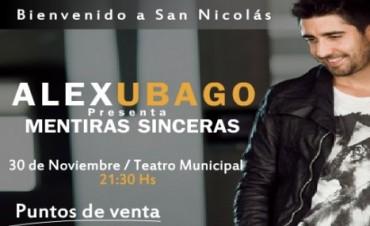 Alex Ubago en San Nicolás