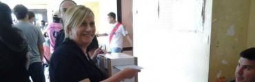 """Graciela Rego: """"Estamos felices por la elección, en Ramallo tenemos que trabajar en un proyecto en común"""""""