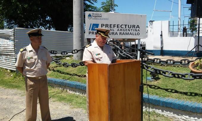 El Prefecto Hidalgo se despidió agradeciendo a la comunidad