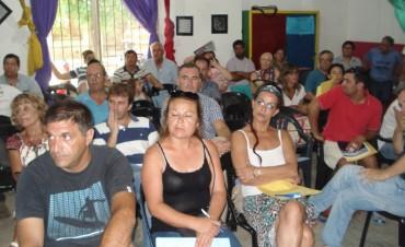 Villa Ramallo: El Intendente Poletti encabezó la primera jornada de participación comunitaria